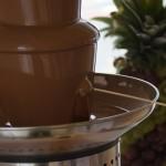 Fontanna z czekoladą