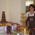 Fontanna czekoladowa Niebiańska Rozkosz, fontanna alkoholowa Saturday Night i obsługa Impresji Smaku