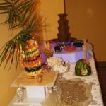 Dekoracje ślubne, fontanny czekoladowe