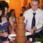Wynajem fontann z najlepszą belgijską czekoladą