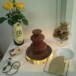 Mleczna belgijska czekolada, carving