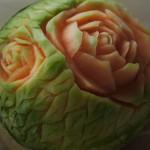 Rzeźba w melonie
