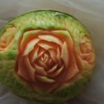 Róże w melonie