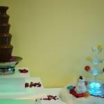 Fontanna czekoladowa Euforia i fontanna Saturday Night