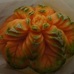 dekoracja z melona - carving