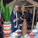 Fontanna do czekolady fontanna serowa palma z owoców Turek