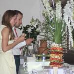 Fontanna czekolady na weselu w restauracji Bursztyn w Kaliszu