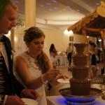 Czekoladowe inspiracje, bufety owocowe, fontanny czekolady, fontanny do soków i drinków