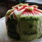 Dekoracje z owoców, carving, bufety owocowe