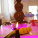 Fontanna czekoladowa w Sali Bankietowej w Tuliszkowie