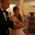 Młoda Para i czekoladowe fondue
