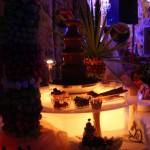 Owocowo - czekoladowy bufet ślubny
