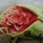 Carving ślubny - podziękowanie dla gości