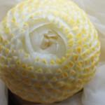 Carving na ślub w melonie