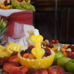 Dekoracje z owoców i warzyw - carving