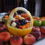 Koszyk z melona - carving
