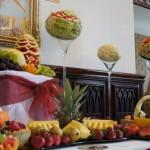 Owocowe stoły, owocowe bufety, carving