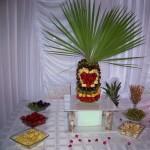 Palmy owocowe, bufety owocowe, carving