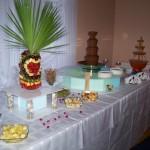 Słodko - owocowy stół Impresji Smaku - Zameczek w Emilianowie