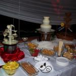 Fontanna czekoladowa i fontanna z dipem serowym oraz drinkiem OSP Skarszew