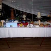Fontanna czekoladowa, serowa, alkoholowa na weselu OSP Skarszew