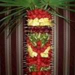 Motyl na palmie owocowej
