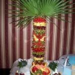 Palma owocowa na weselu w Mikorzynie