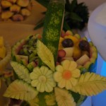 carving - koszyk z arbuza