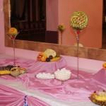 Carving i dekoracje owocowe - owocowy stół