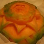 Dekoracja z melona Cantaloupe