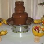 Fontanna czekoladowa Uniesienie