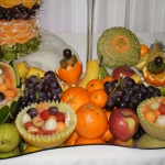 owocowy bufet i dekoracje owocowe
