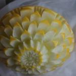 dekoracja ślubna w melonie