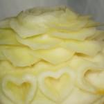 dekoracja carvingowa w miodowym melonie