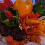 Carving - bukiet warzyw