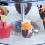 Czekoladowe deserki - Candy-Bar