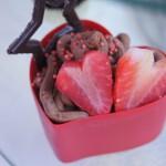 Deserek czekoladowy serce - Słodki Stół