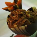 Tulipan marmurkowy z musem czekoladowym, Candy Bar, Choco-Bufet