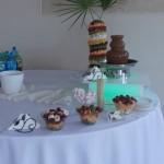 Fontanna czekoladowa i palma z owoców - Pleszew restauracja Impresja