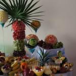 Bufet owocowy na weselu