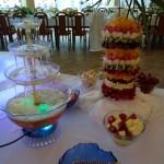 fontanna alkoholowa na wesele