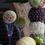 Dekoracje owocowe na wesele - Zamek Topacz Ślęza