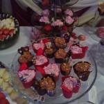 Deserki w czekoladowych foremkach - candy bar Hotel Czarnuszkza