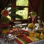 Bufet owocowy, Słodki Stół i fontanna czekoladowa