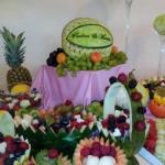 Carving i dekoracje owocowe na wesele