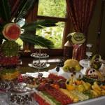 Fontanna czekoladowa i bufet owocowy Dwór Hipolitów