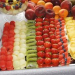 Stół owocowy Dwór Hipolitów