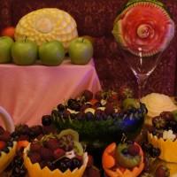 carving w melonie i arbuzie - bufet owocowy Włocławek