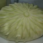 Carving w żółtym melonie1