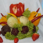 Bukiet warzyw - carving